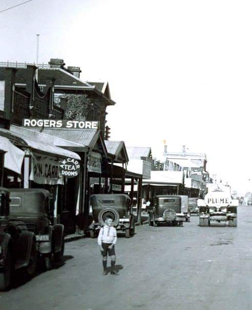 Angus main street Mt Gambier