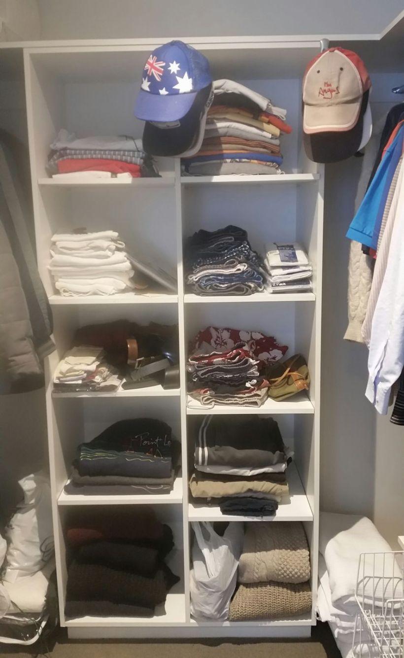 Angus's closet