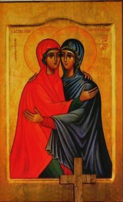 Elizabeth and Mary icon 2