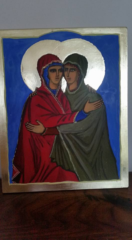 Sisters icon by Cathy McDonald