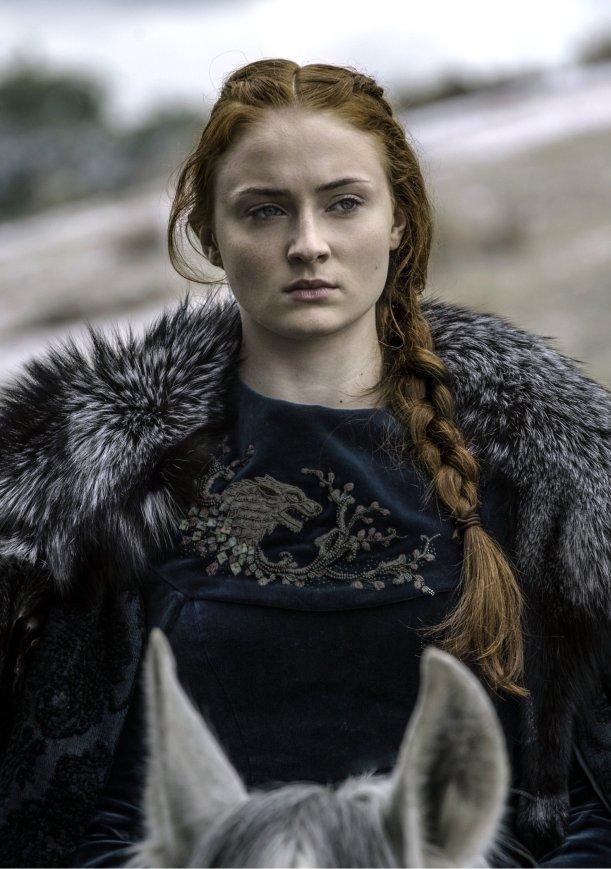Sansa Stark 2 Elly McDonald Writer
