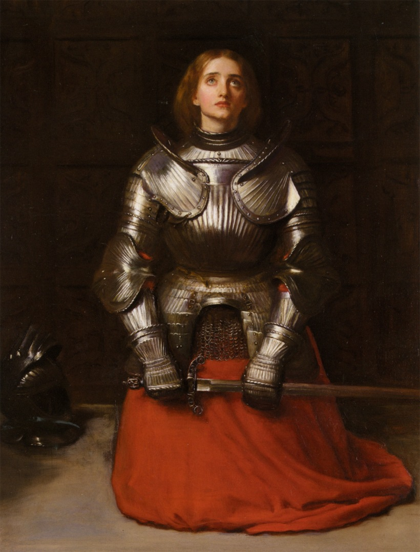 PreRaphaelite-Joan_of_Arc_Elly_McDonald_Writer