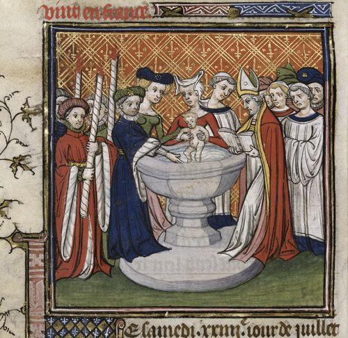 Baptism_Edward_III_daughter_Isabella